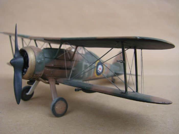 Gloster Gladiator Mk.I, Matchbox/Revell, 1/72 DSC03056