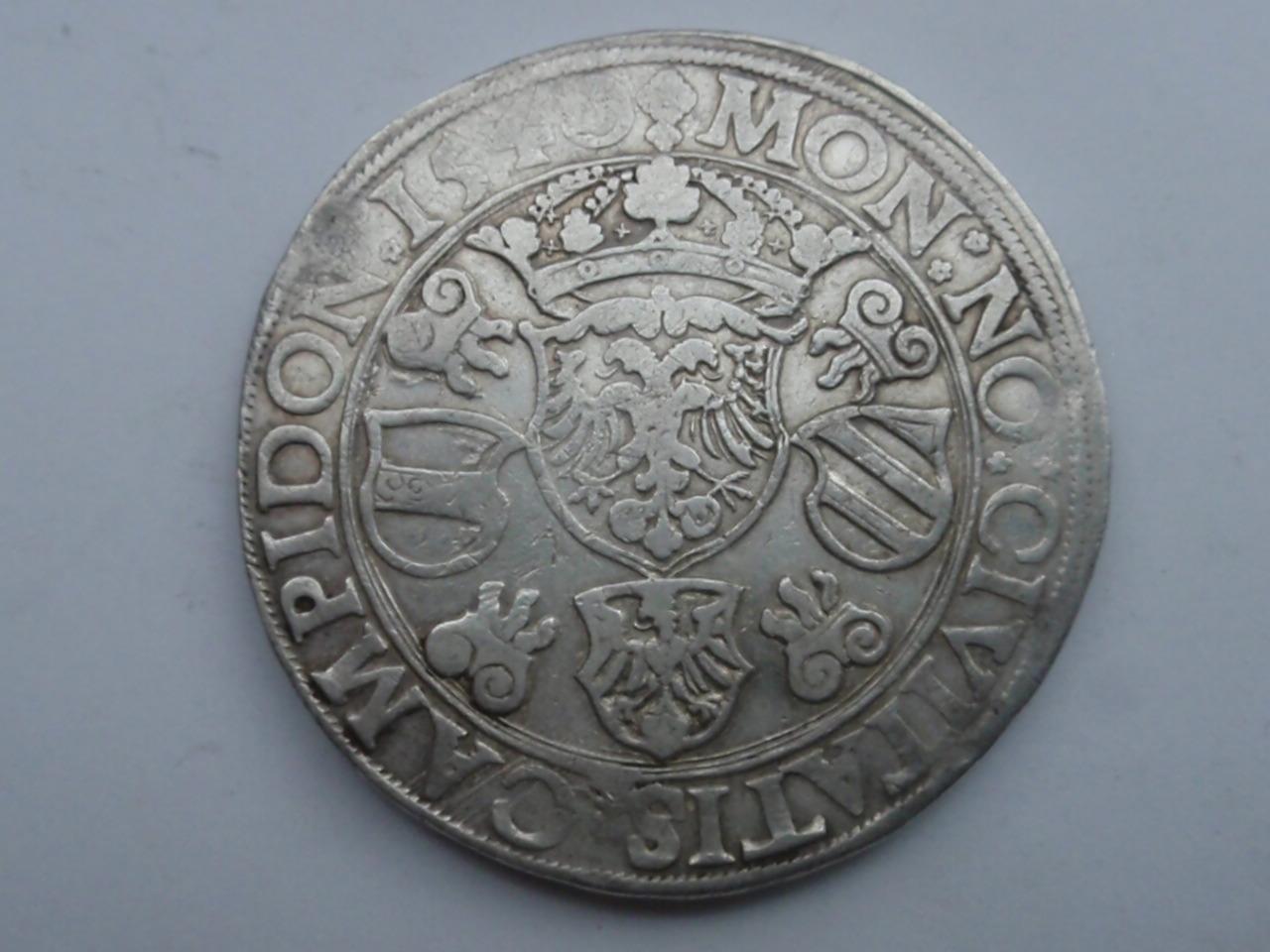 Thaler de Carlos V - 1540. Kempten.  Ci_rev