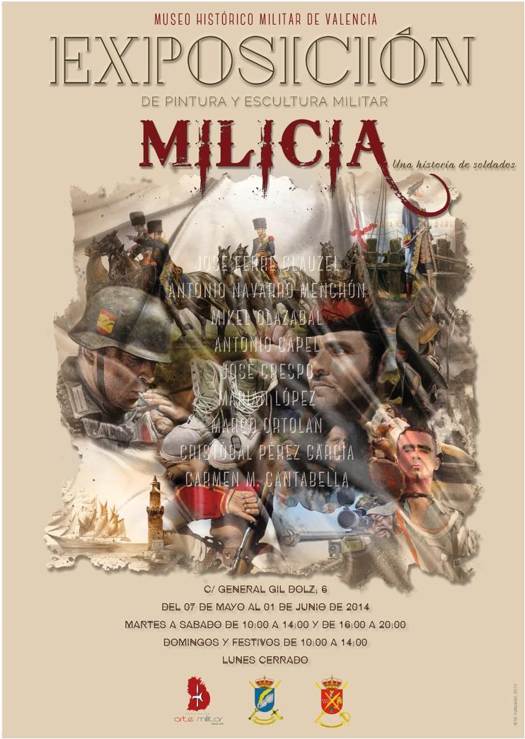 """Exposición de Pintura """"Milicia. Una historia de soldados"""", Sin_t_tulo_3"""