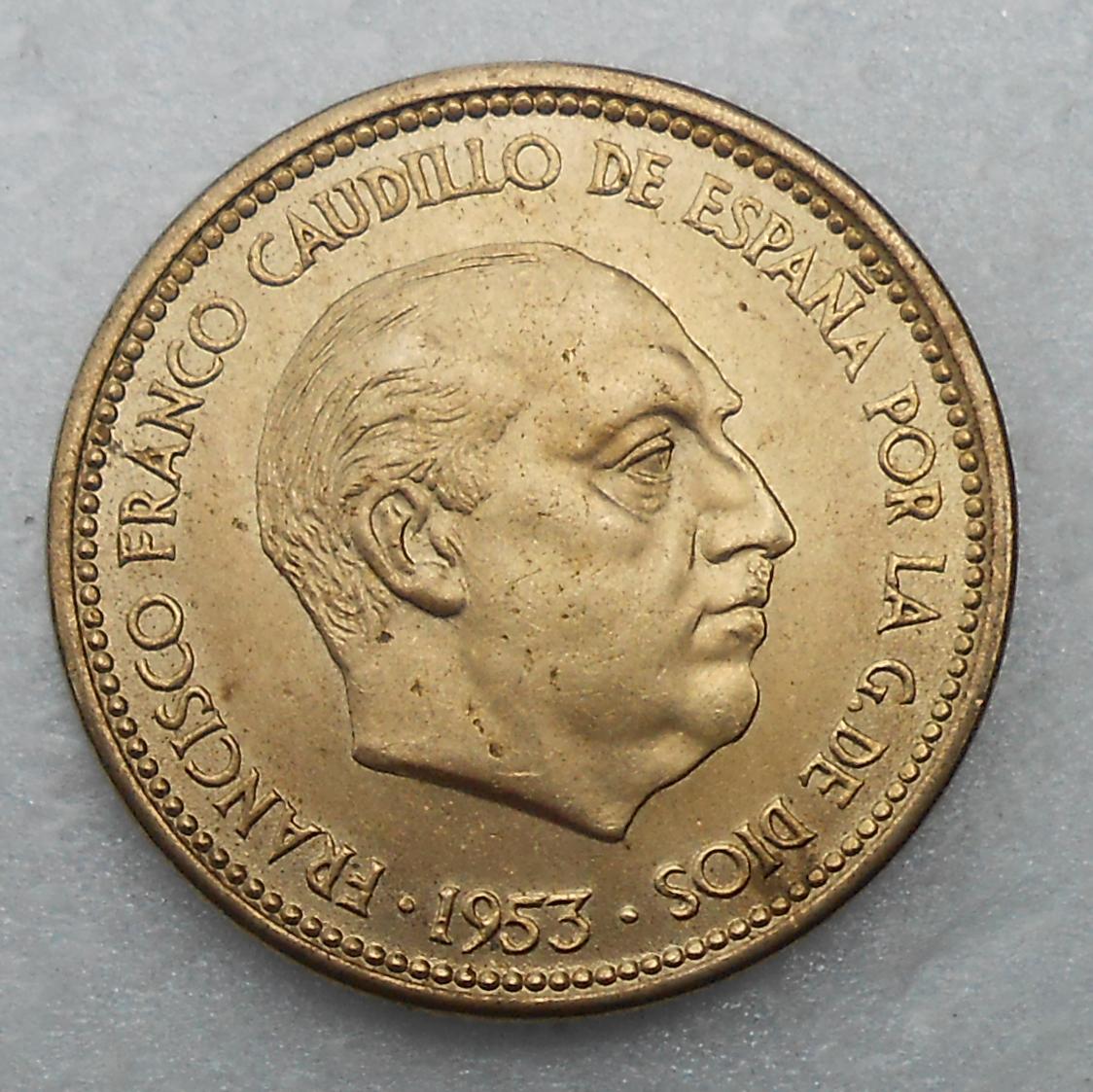 2,50 pesetas 1953 * 56. Estado Español. DSCN1189