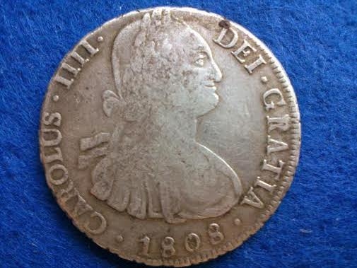 8 reales 1808 carlos IV- Potosí 8rc4