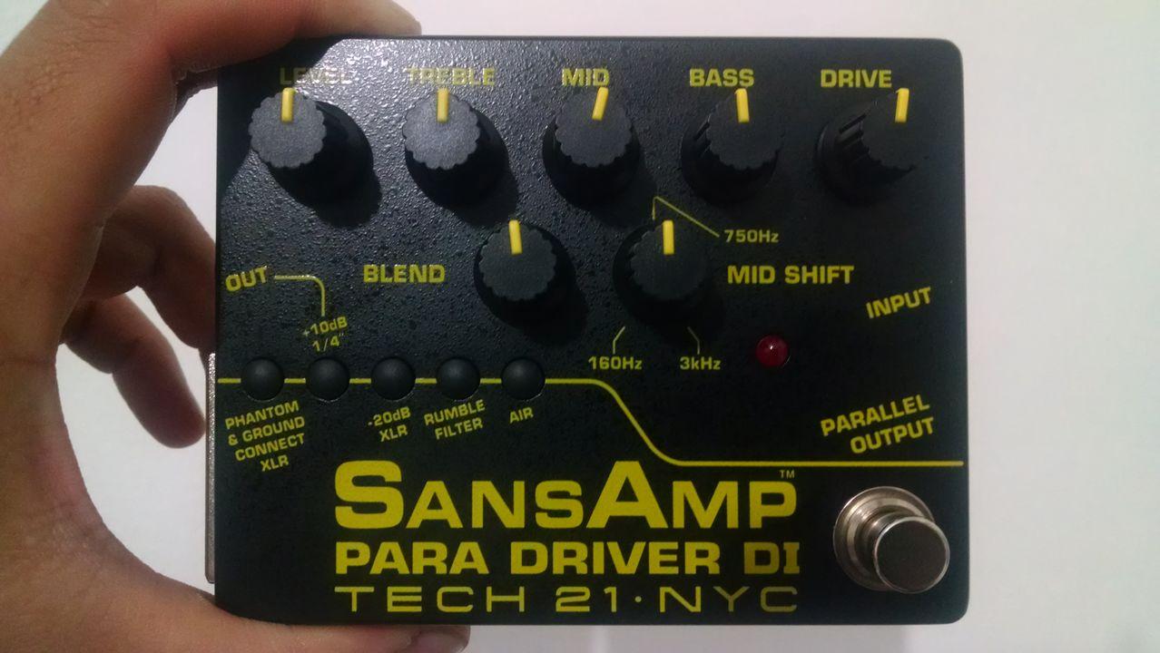 Tech 21 SansAmp Character Series VT Bass DI - Página 2 Sansamp