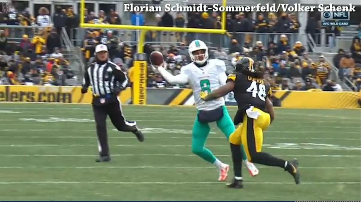 Steelers WR Eli Rogers Fined $24,309 for Blindside Block Against Dolphins Bd2