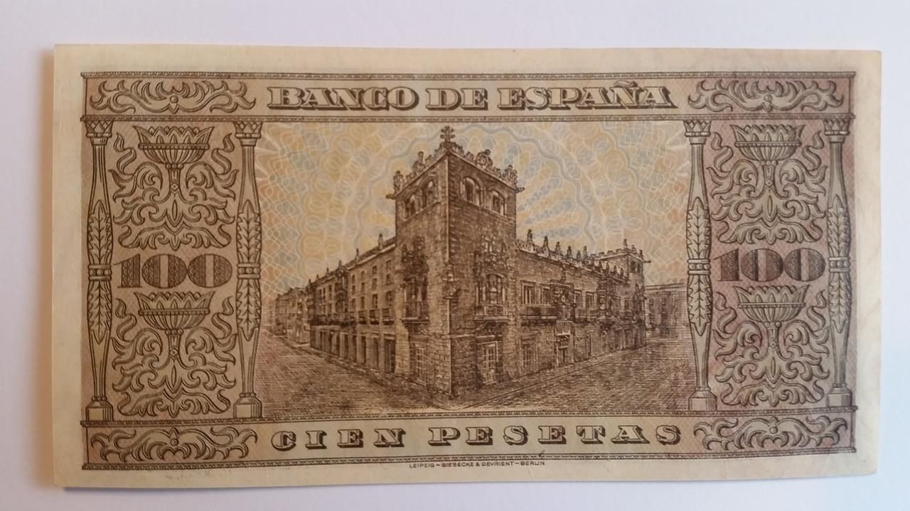 Colección de billetes españoles, sin serie o serie A de Sefcor pendientes de graduar 20161217_120506