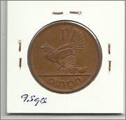 Monedas con animales domésticos 1penny_irlanda_1966_r