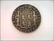 8 REALES FERNANDO VII - 1819 POTOSÍ FER_VII_2