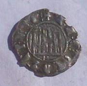 Dinero de pepion de Fernando IV de Castilla 1295-1312 Burgos  102_3913