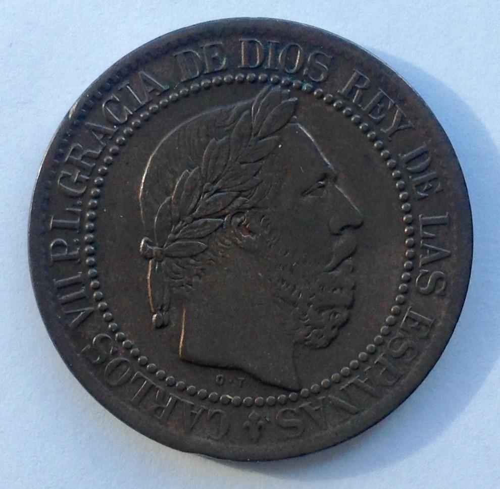 10 céntimos 1875. Carlos VII. Oñate IMG_3412