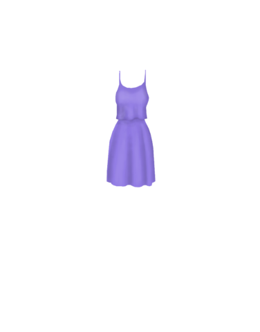 Fashion Purple_dress