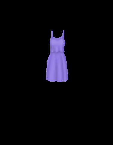 Fashions Purple_dress