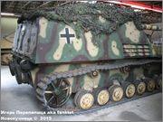 """Немецкая 15,0 см САУ """"Hummel"""" Sd.Kfz. 165,  Deutsches Panzermuseum, Munster, Deutschland Hummel_Munster_016"""