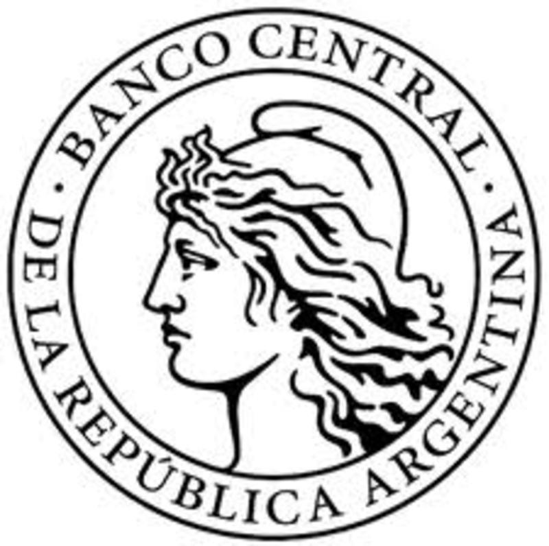 Moneda CONMEMORATIVA del 75º ANIVERSARIO de la fundación del BCRA ESCUDO_BCRA