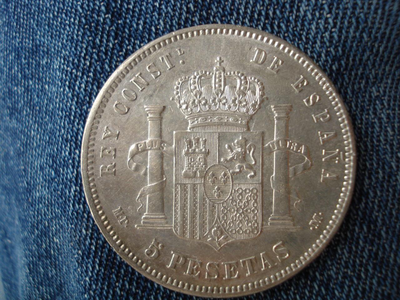 5 pesetas 1888 Alfonso XIII - Página 2 DSC03517