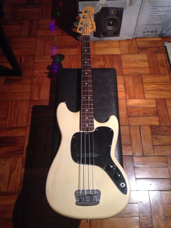 Fender Music Master X Mustang IMG_2664