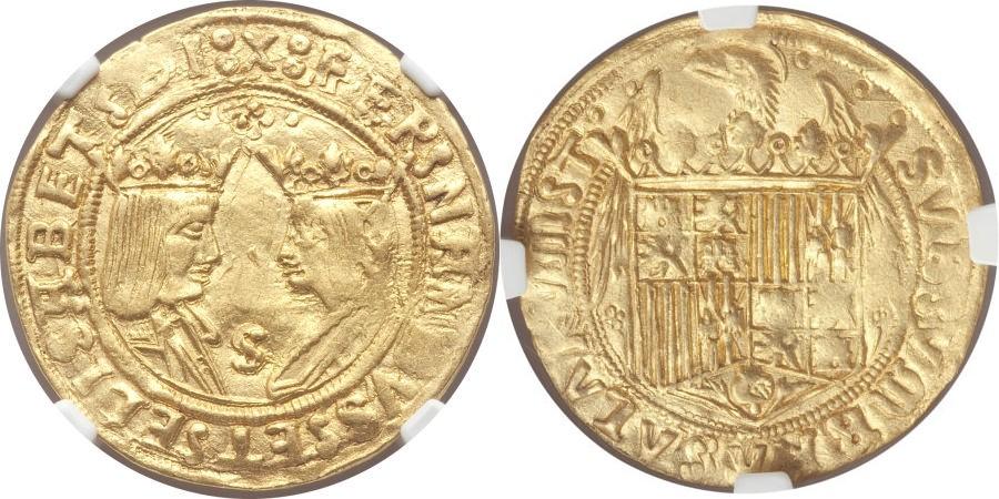 HERITAGE.Moneda Española 882628l