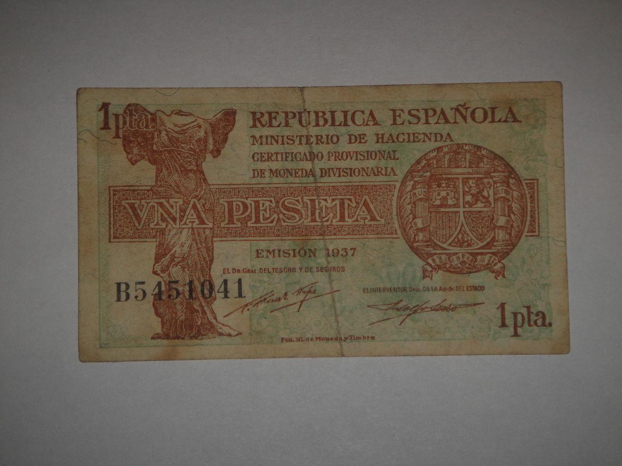 1 Peseta 1937 DSC02658