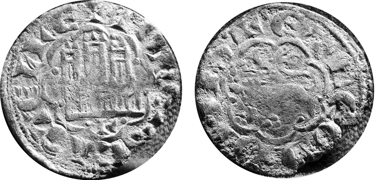 Dinero de Alfonso X de la 2ª guerra de Granada A10_Le_n