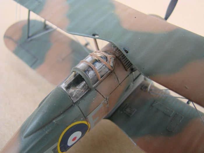 Gloster Gladiator Mk.I, Matchbox/Revell, 1/72 DSC03052