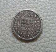 1 real 1726 Felipe V ceca de Madrid con rectificacion de fecha 20170318_161014_1