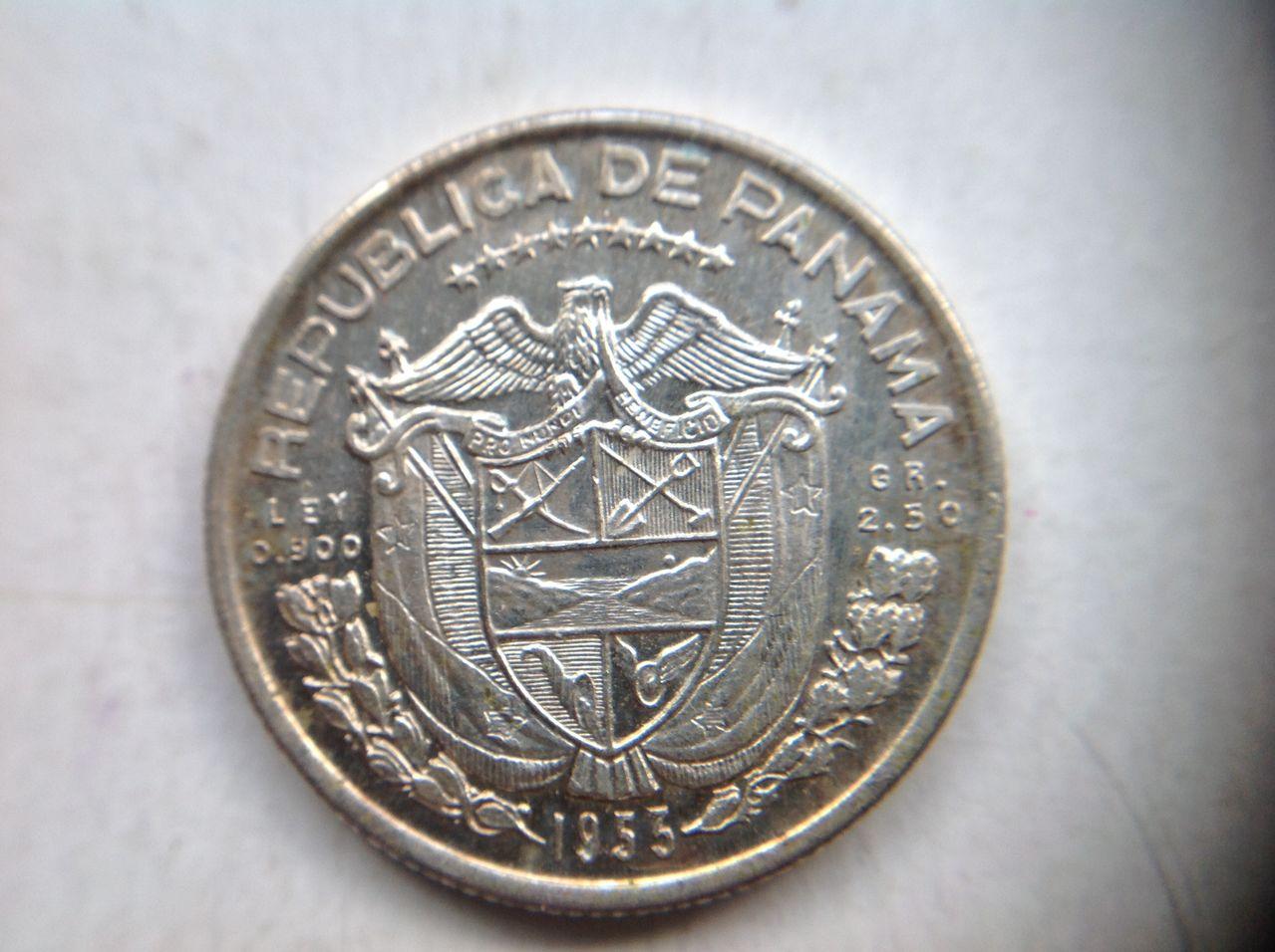 1/10 balboa 1953 Panamá Image