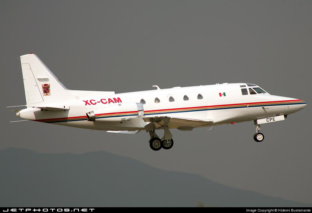 Aeronaves  Matriculas  XC-  ( Por Estados) North_American_NA_265_60_XC_CAM_2008