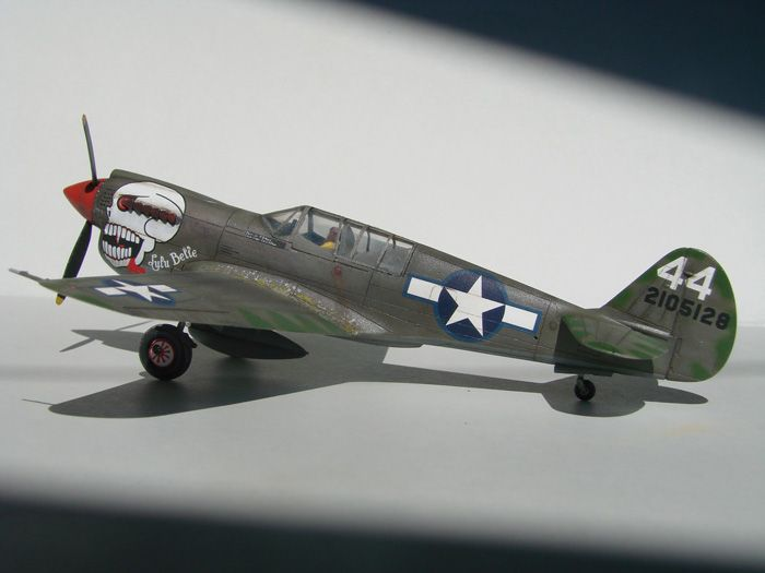 P-40N(rebuild), Hasegawa, 1/72 DSC03738