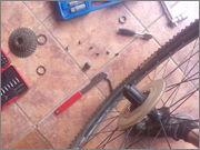 "Empezamos montaje kit Bafang BPM 500w en Giant Talon 29""er  IMG_20150830_173445"