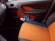 Pulire sedili Arancio in tessuto P_20170219_134657