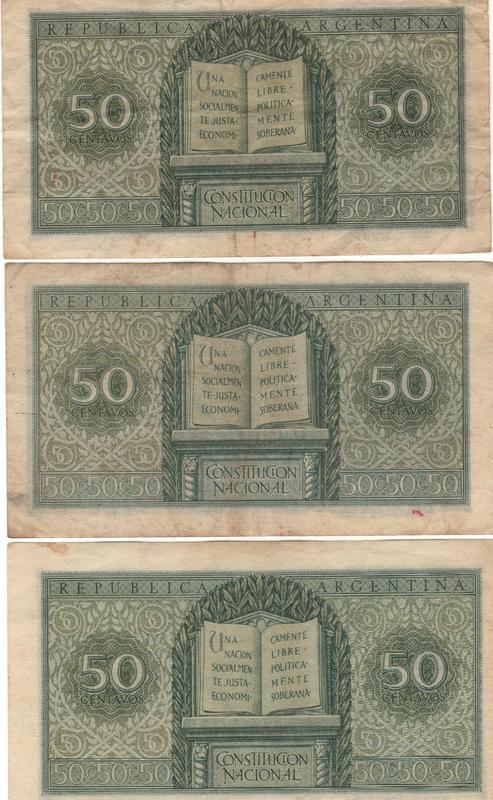 1 Peso Argentina, 1947 50_cent_Moneda_Nacional