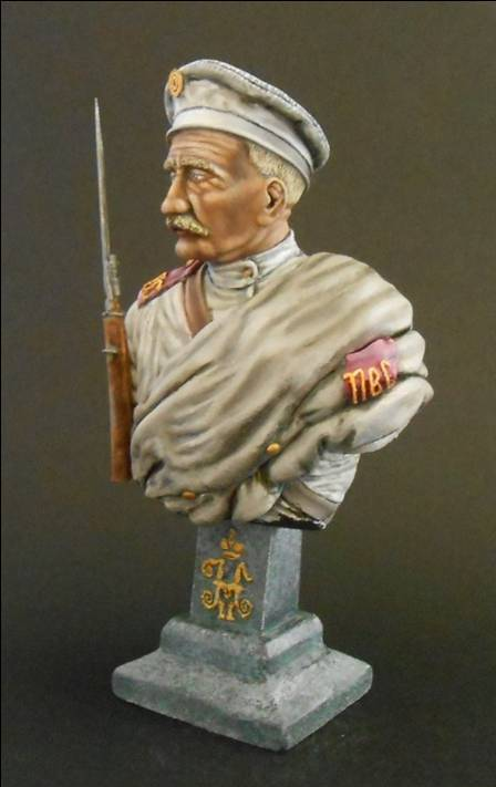 Soldat Russe, 12e Régiment de Tirailleurs Sibérie orientale 1904 Neu_6