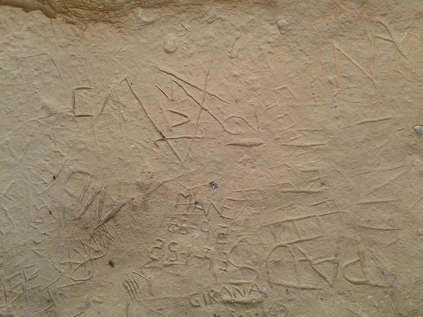 MI INSTINTO DE JABALÍ Y LOS PETROGLIFOS Petroglifo38