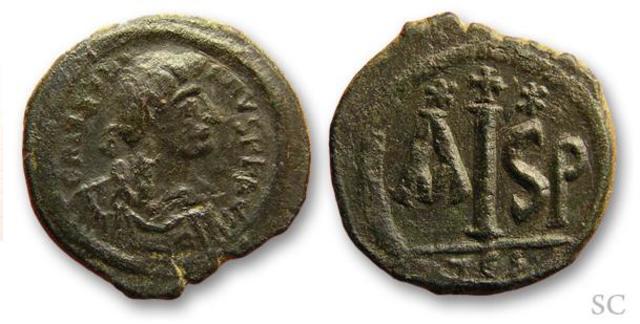 Denominación de las monedas de Bizancio. 1ª parte 16_nummi