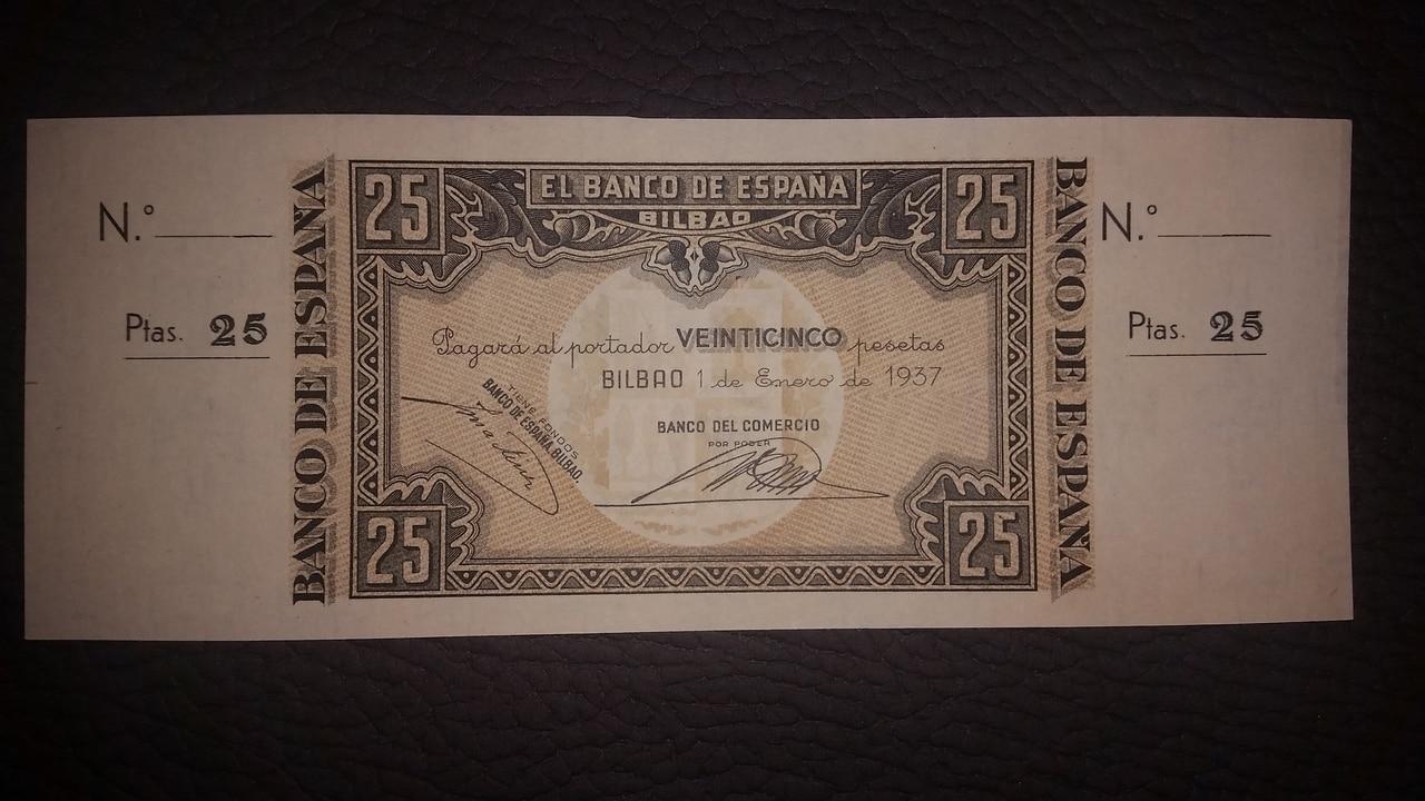 Colección de billetes españoles, sin serie o serie A de Sefcor pendientes de graduar - Página 2 20170217_204254