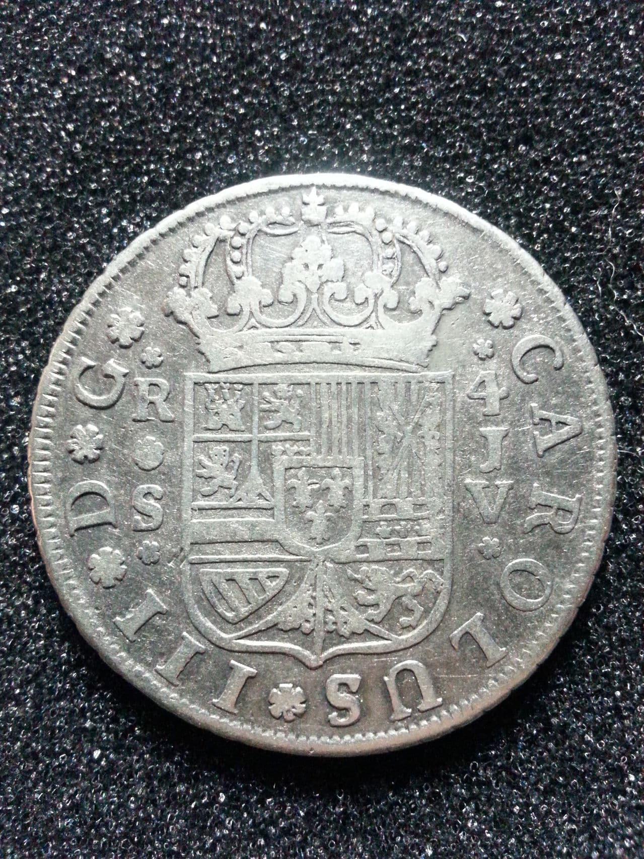 4 reales 1761. Carlos III. Sevilla 20150211_163715