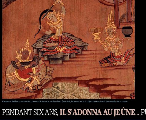 la Vie de Bouddha Image