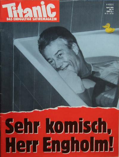 Michael Schumacher Titanicengholm