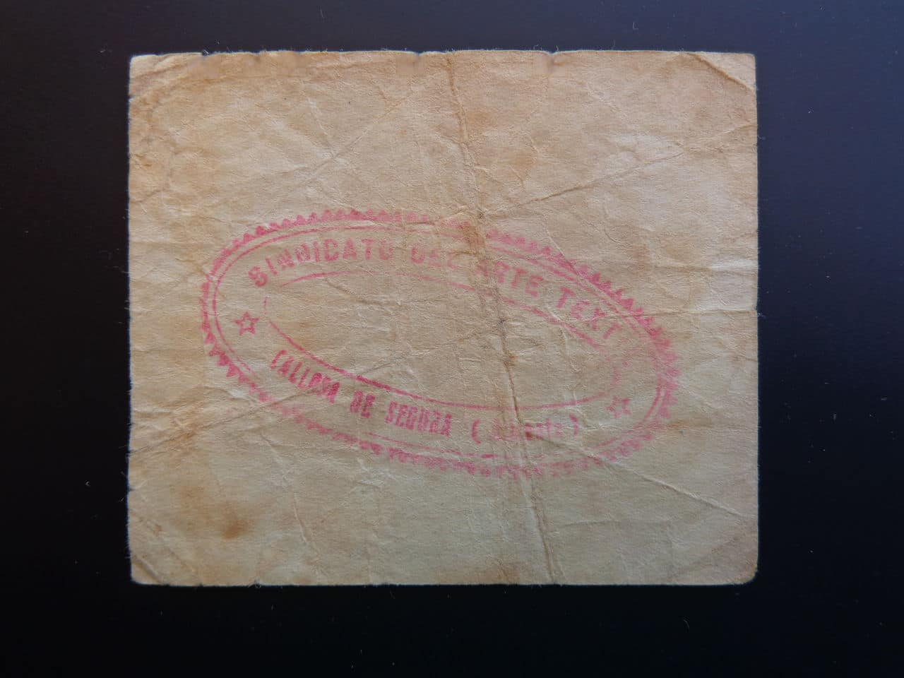 25 Céntimos Callosa de Segura 1937 (Alicante) DSC00551