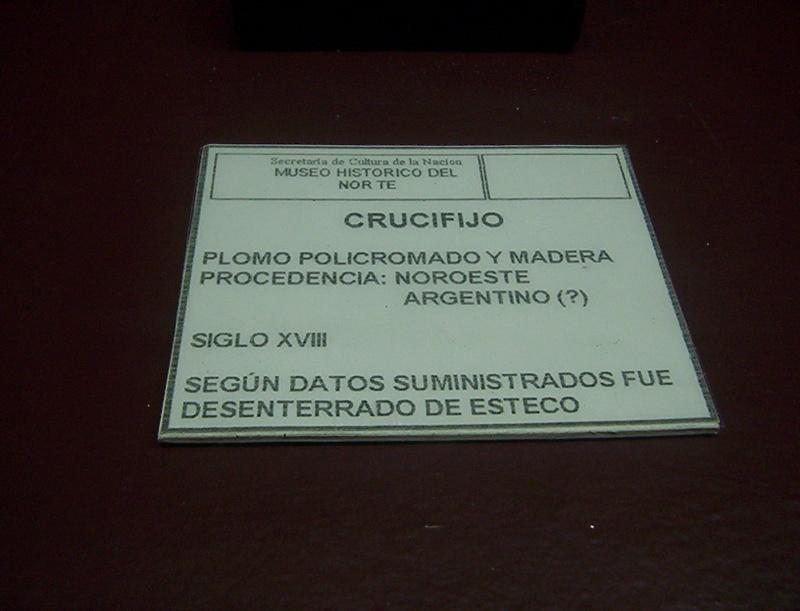 YACIMIENTO ARQUEOLOGICO EN EL NOROESTE ARGENTINO AA_CRUCUFIJO_A