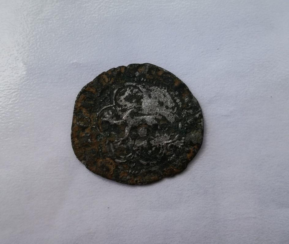 Blanca de Enrique III de Castilla 1390-1406 Sevilla. IMG_20161218_151501
