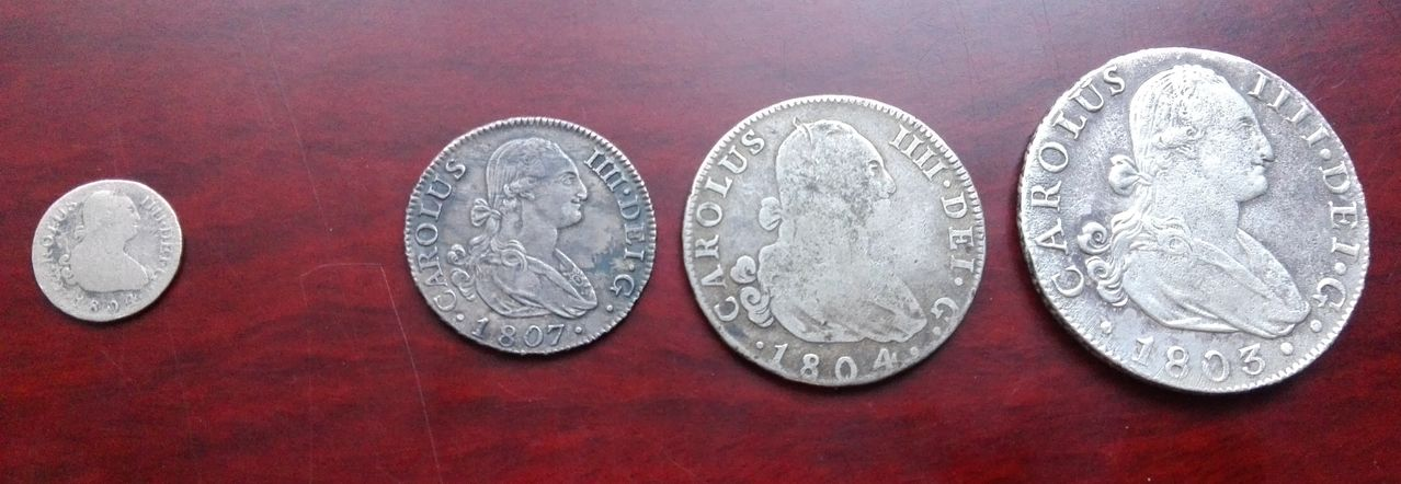 8 reales 1803 Carlos IV. Sevilla IMG_20160402_193533