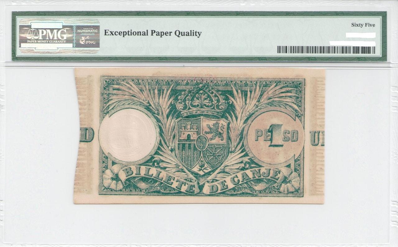 Colección de billetes españoles, sin serie o serie A de Sefcor - Página 4 Peso_pto_rico_reverso