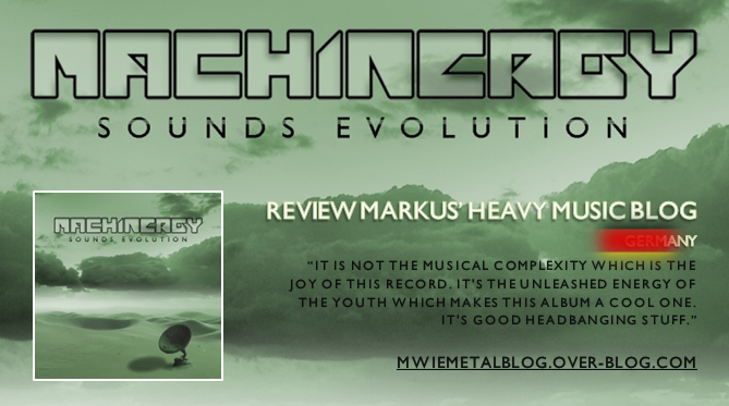 "MACHINERGY ""Sounds Evolution"" 2014 Review_Markus"