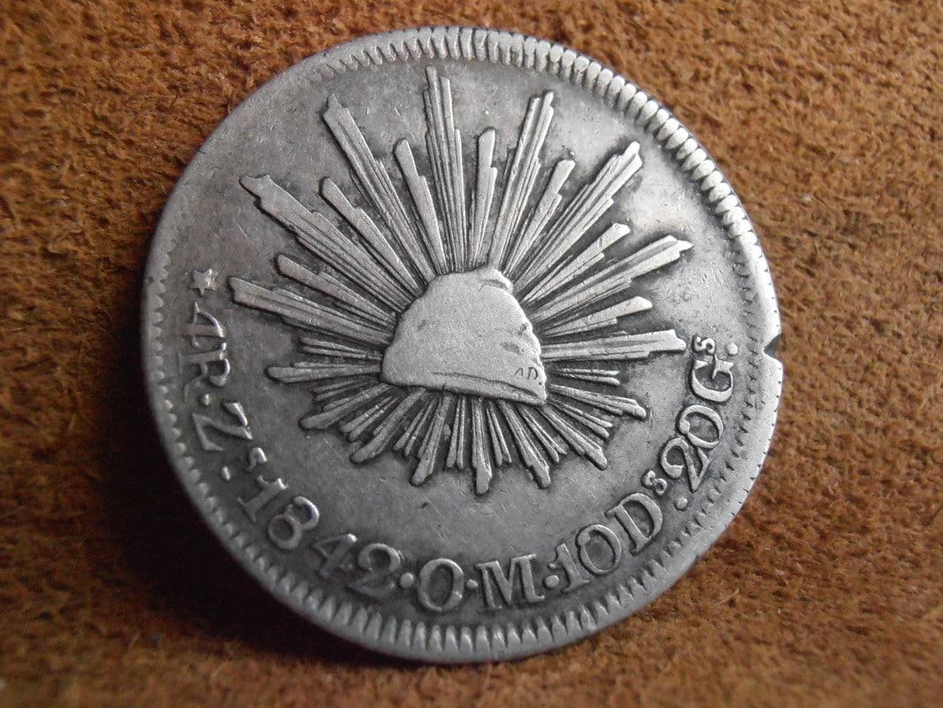 4 Reales 1842 Zacatecas P2258603