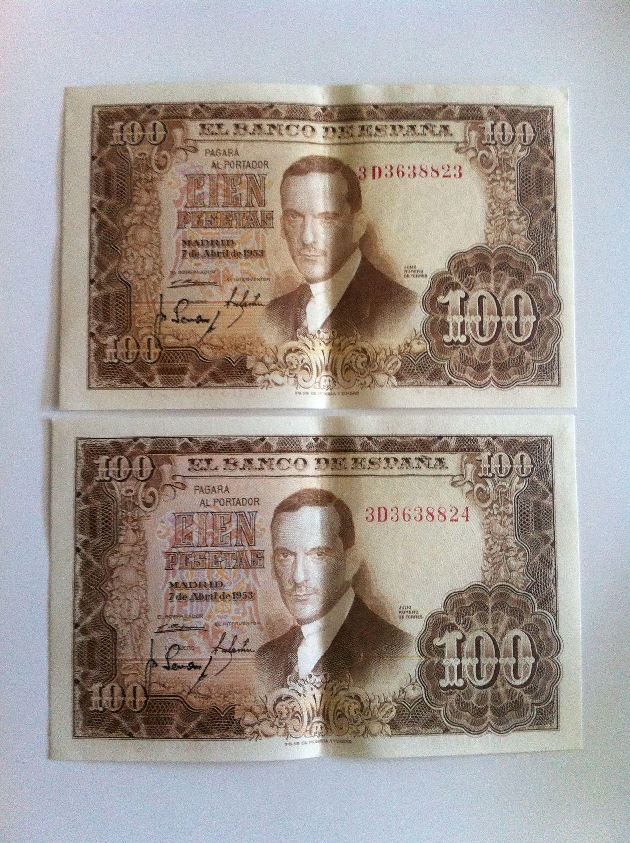 Ayuda valoracion cien pesetas 1953 IMG_5008