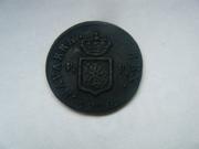 1 maravedí 1830. Fernando VII. Pamplona DSCF2024