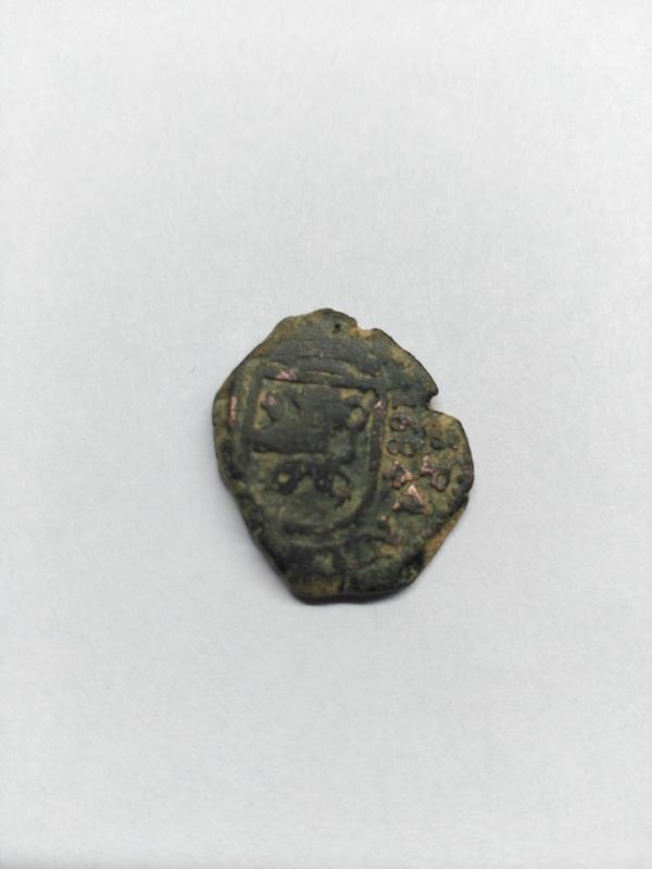 2 maravedis de Carlos II coruña  Image