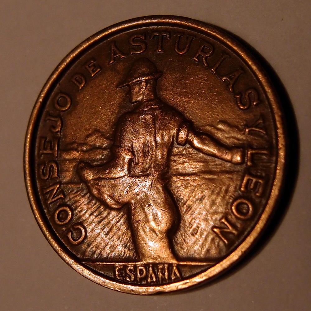 1 PESETA, 1937, GUERNICA, CONSEJO DE ASTURIAS Y LEÓN (GUERRA CIVIL) PB110602