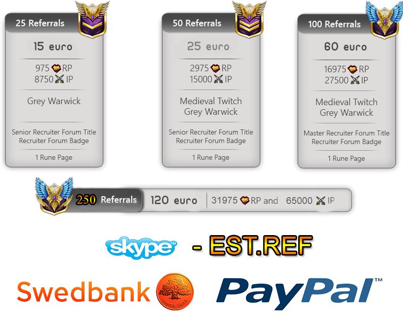 League of Legends - 2.0 Referral Service [EESTI] Refori