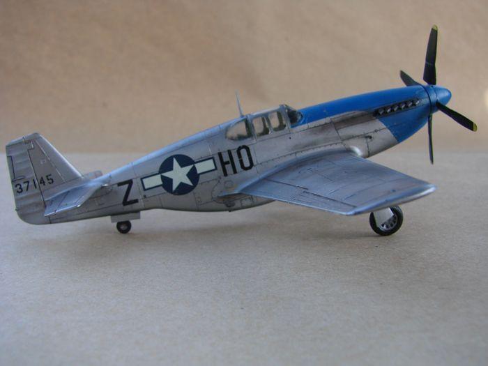 Mustang x2 P-51B Revell & P-51D Tamiya, 1/72 DSC09767