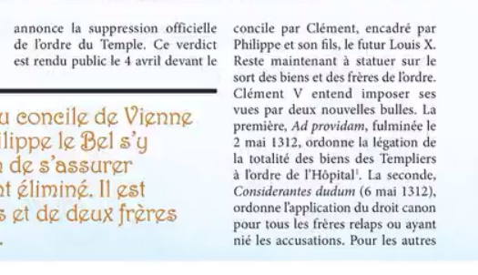 Page NOIRE du christianisme Image